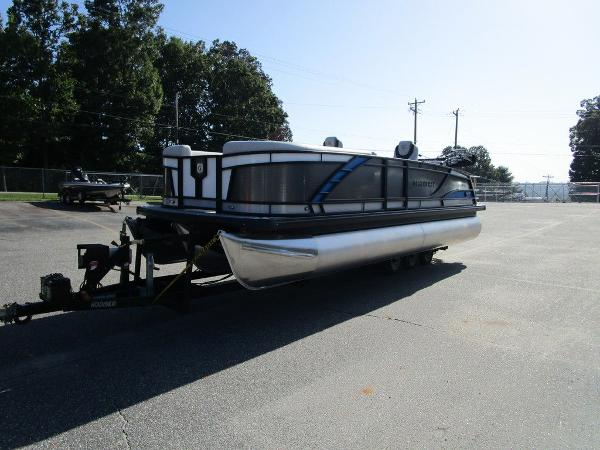 2021 Godfrey Pontoon boat for sale, model of the boat is Monaco 235 SFL GTP 27 in. & Image # 4 of 32