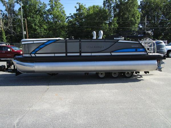 2021 Godfrey Pontoon boat for sale, model of the boat is Monaco 235 SFL GTP 27 in. & Image # 5 of 32