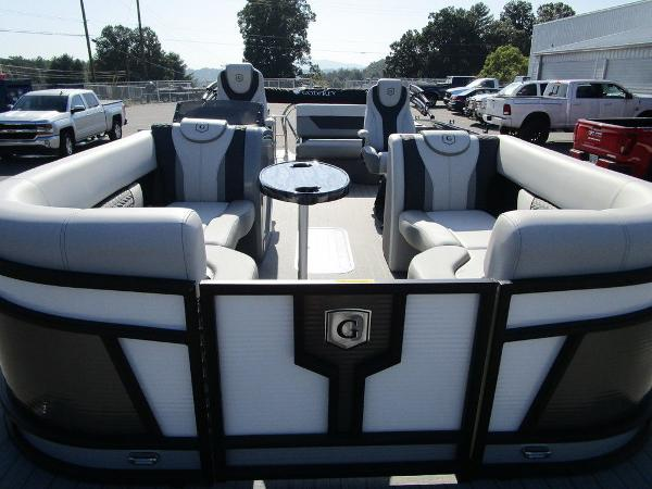 2021 Godfrey Pontoon boat for sale, model of the boat is Monaco 235 SFL GTP 27 in. & Image # 9 of 32