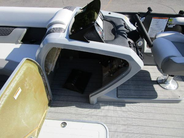 2021 Godfrey Pontoon boat for sale, model of the boat is Monaco 235 SFL GTP 27 in. & Image # 22 of 32