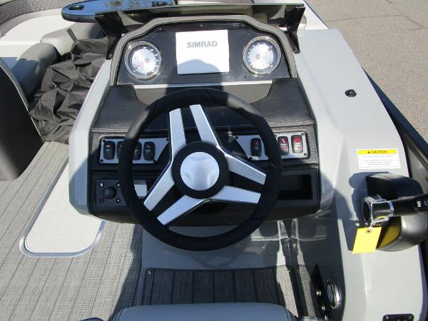 2021 Godfrey Pontoon boat for sale, model of the boat is Monaco 235 SFL GTP 27 in. & Image # 24 of 32