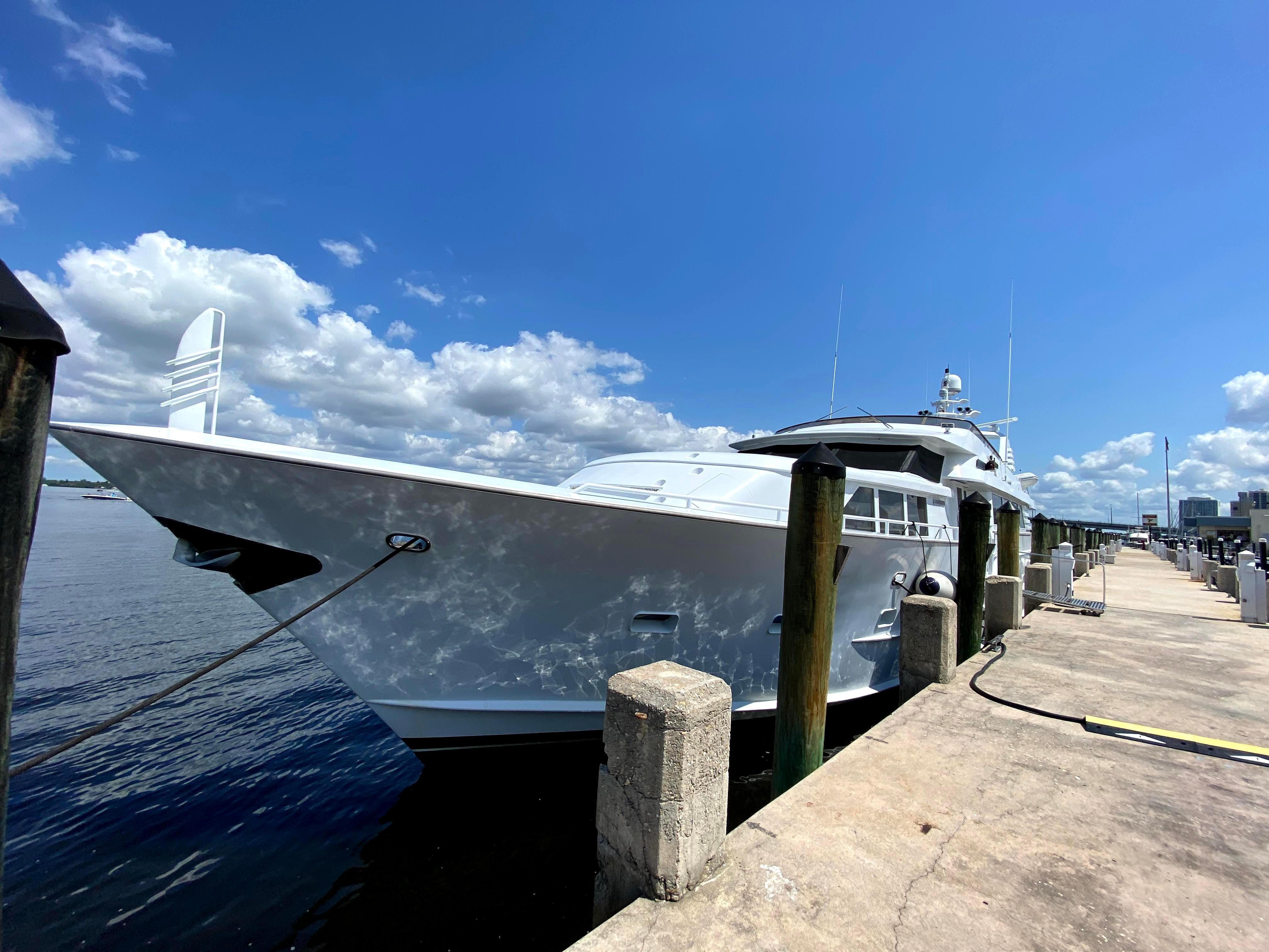 Picture Of:  100' Broward Open Flybridge 1985Yacht For Sale | 4 of 45