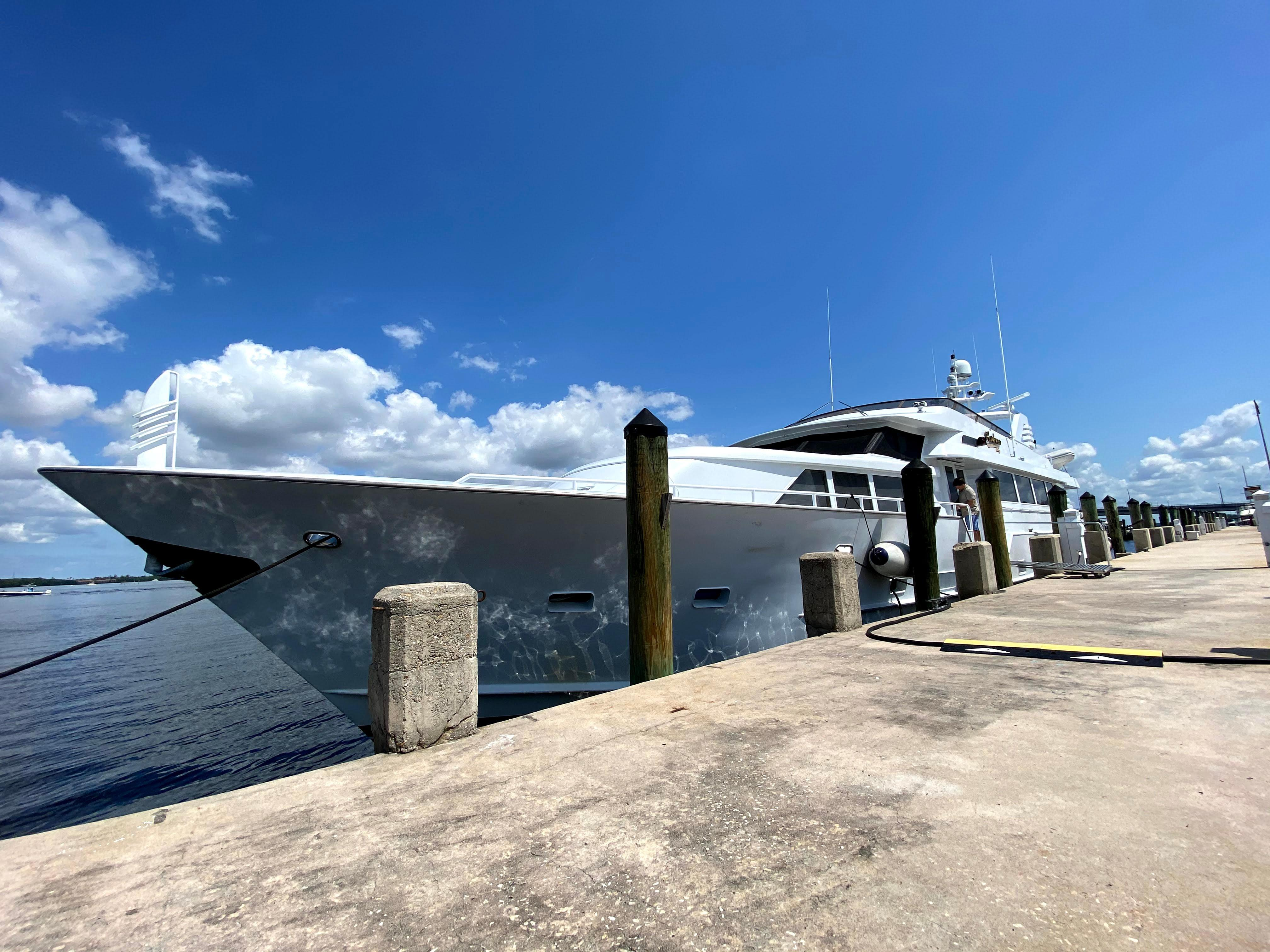 Picture Of:  100' Broward Open Flybridge 1985Yacht For Sale | 3 of 45
