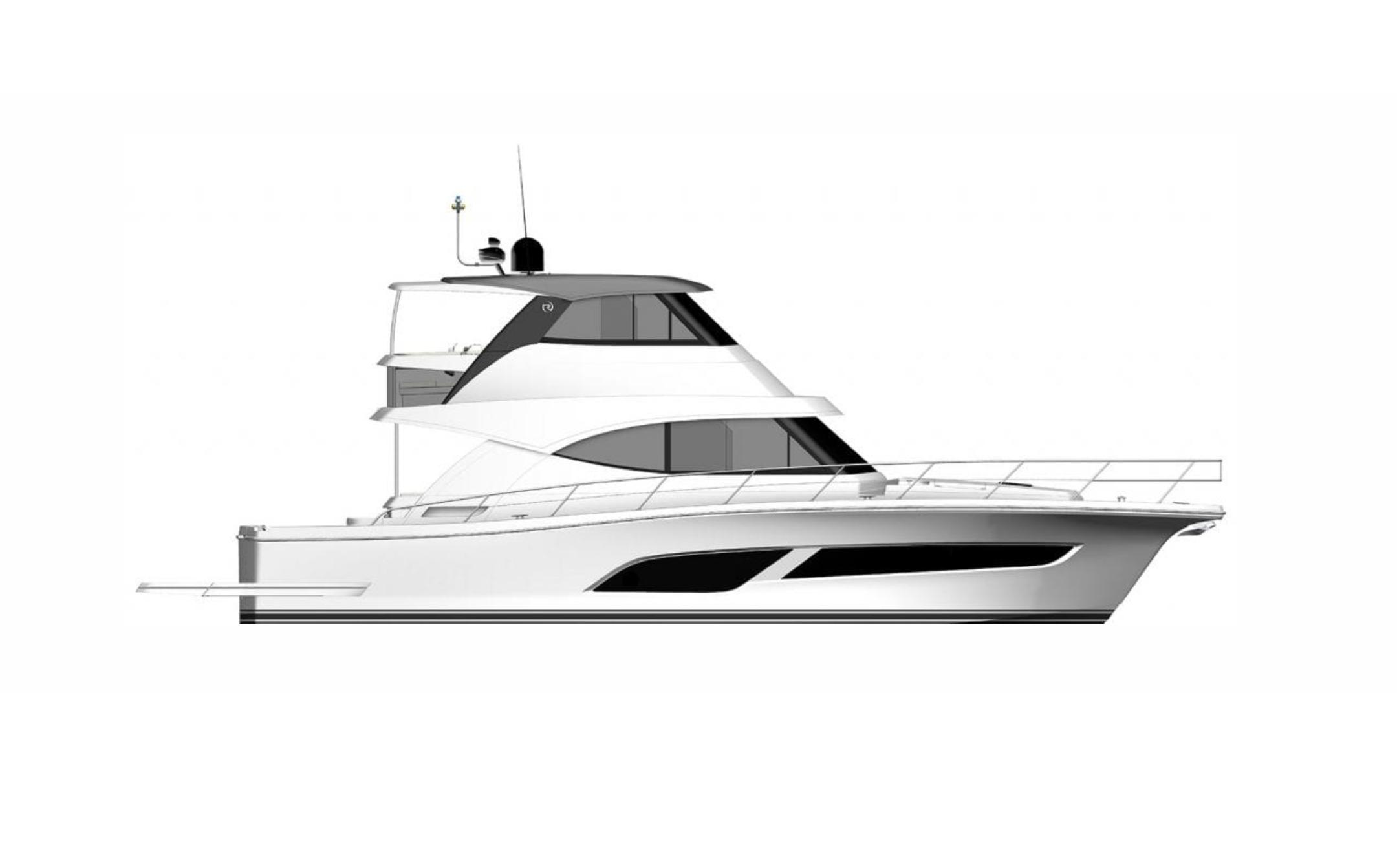2021 Riviera 50 Sports Motor Yacht #R127 inventory image at Sun Country Coastal in Newport Beach