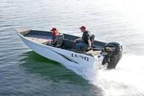 2022 LUND 1650 Angler Tiller
