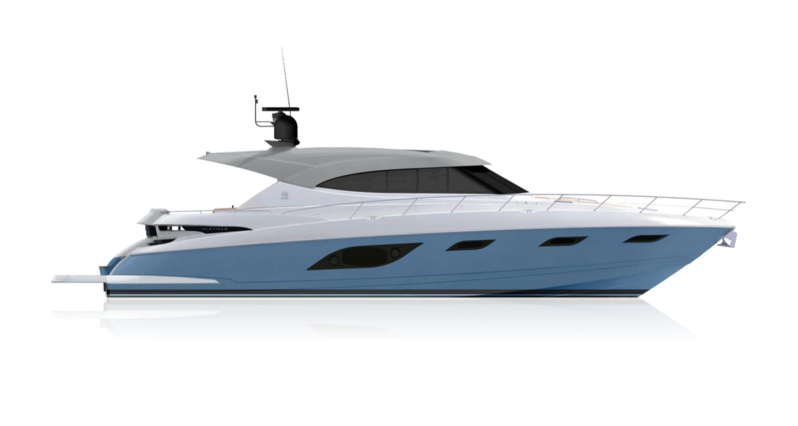 2021 Riviera 6000 Sport Yacht #R103 inventory image at Sun Country Coastal in Newport Beach