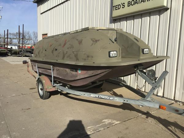 1998 Baja boat for sale, model of the boat is 14' DUCK BLIND BOAT & Image # 1 of 17