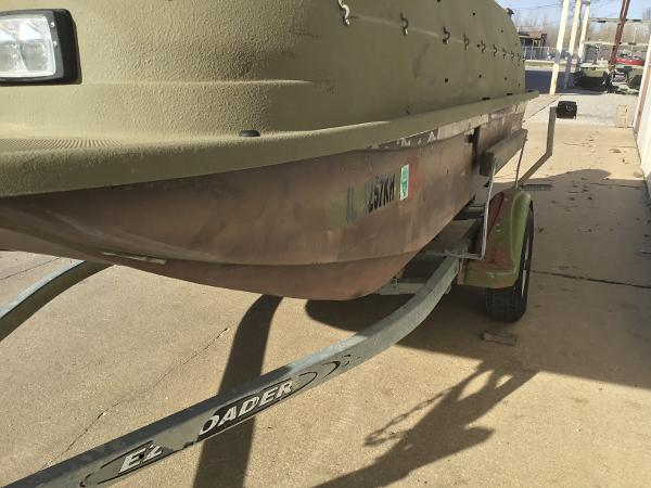 1998 Baja boat for sale, model of the boat is 14' DUCK BLIND BOAT & Image # 10 of 17