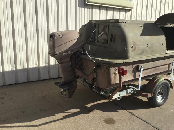 1998 Baja boat for sale, model of the boat is 14' DUCK BLIND BOAT & Image # 11 of 17