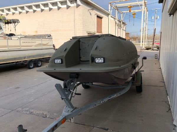 1998 Baja boat for sale, model of the boat is 14' DUCK BLIND BOAT & Image # 3 of 17