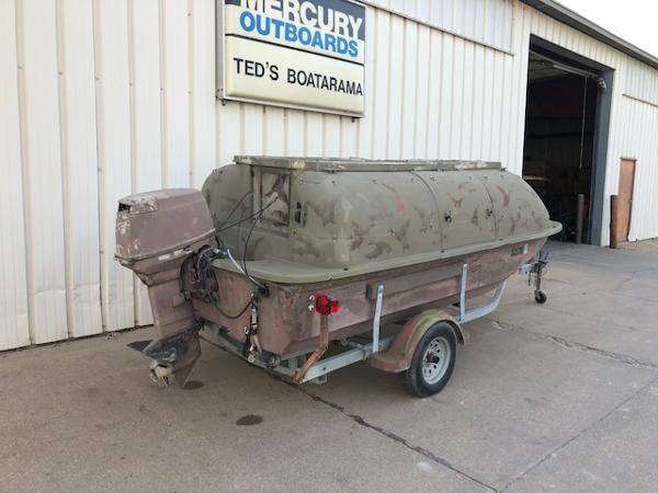 1998 Baja boat for sale, model of the boat is 14' DUCK BLIND BOAT & Image # 4 of 17