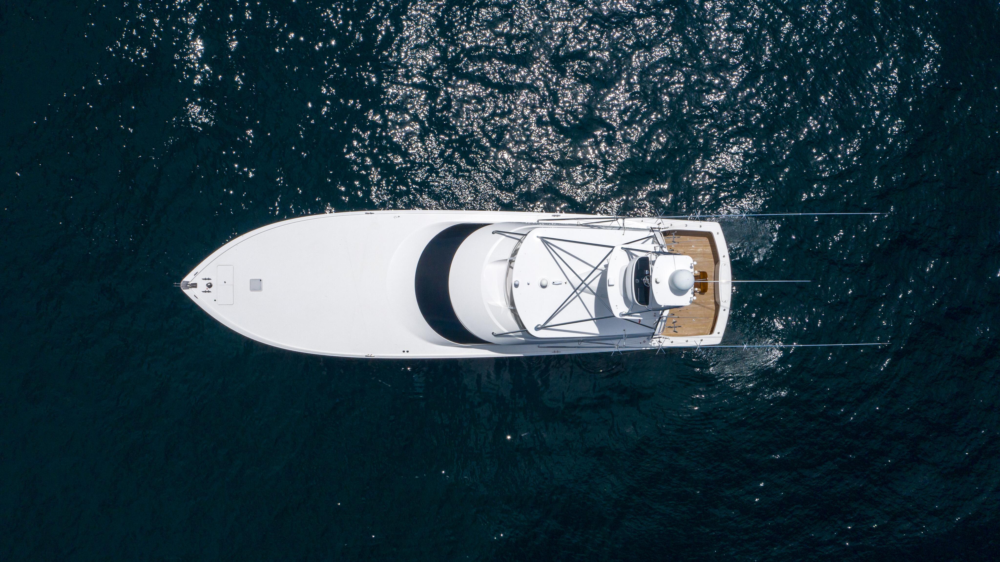 2012 76 Viking SF - Profile Aerial