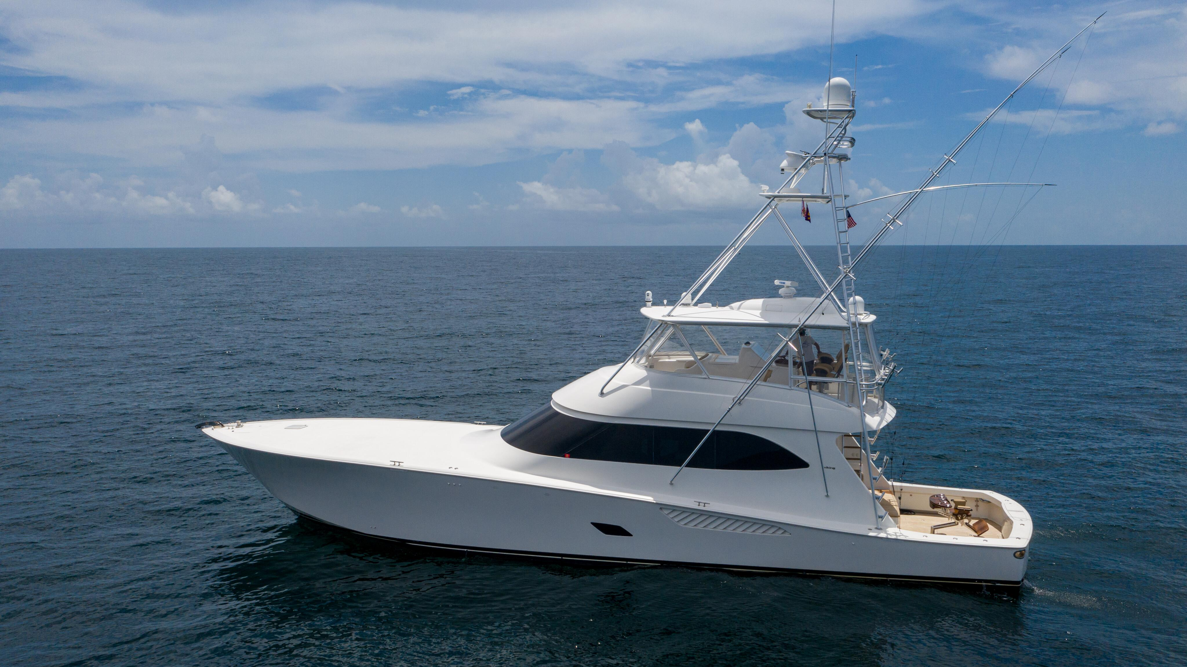 2012 76 Viking SF - Port Profile