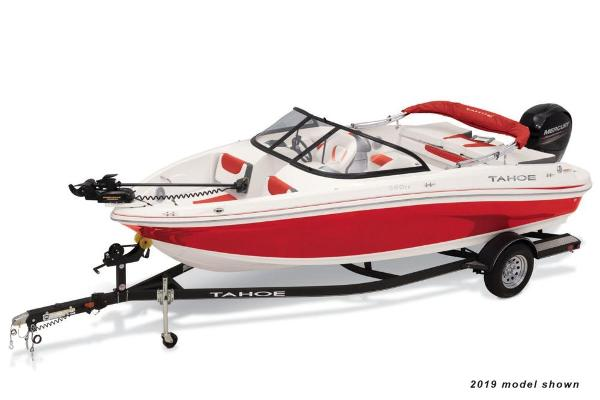 2020 Tahoe boat for sale, model of the boat is 550 TF & Image # 1 of 5