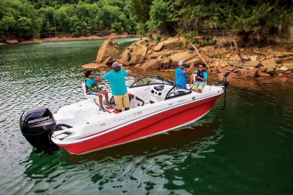 2020 Tahoe boat for sale, model of the boat is 550 TF & Image # 3 of 5