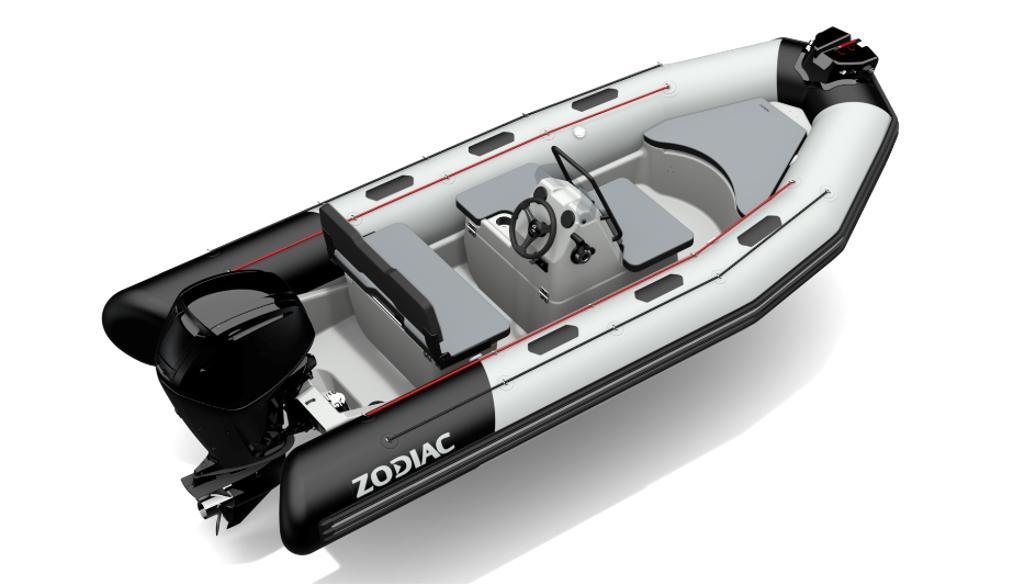 2021 Zodiac Open 4.8 PVC 70hp On Order, Image 2