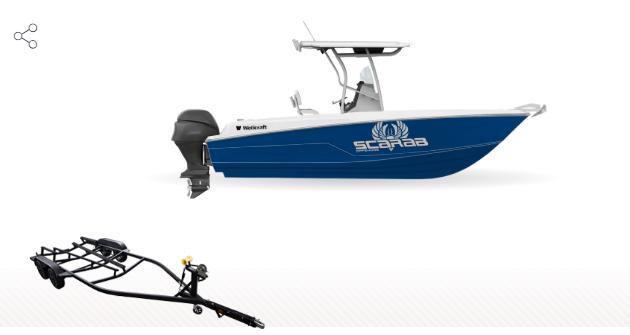 2022 Wellcraft 222 Fisherman