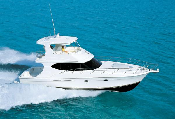 Silverton 48 Convertible - Manufacturer Provided Image - Underway