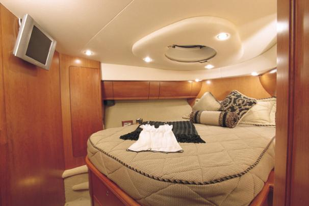 Silverton 48 Convertible - Manufacturer Provided Image: Forward Stateroom