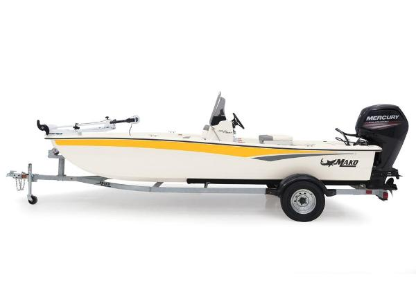 2020 Mako boat for sale, model of the boat is Pro Skiff 17 CC & Image # 11 of 45