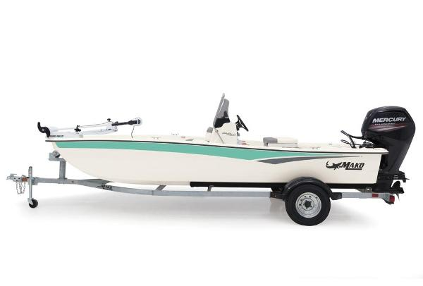 2020 Mako boat for sale, model of the boat is Pro Skiff 17 CC & Image # 15 of 45