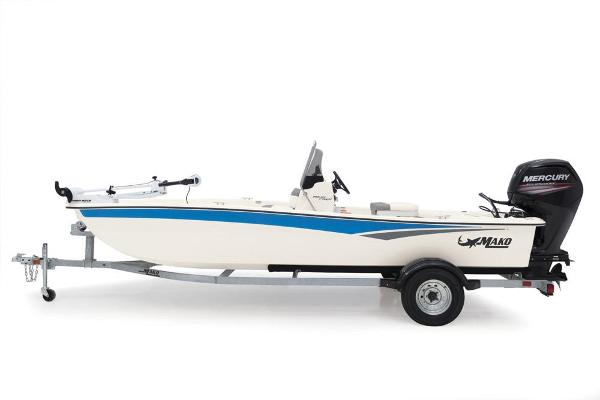 2020 Mako boat for sale, model of the boat is Pro Skiff 17 CC & Image # 9 of 45
