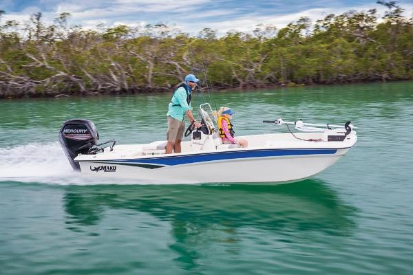 2020 Mako boat for sale, model of the boat is Pro Skiff 17 CC & Image # 3 of 45