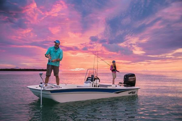 2020 Mako boat for sale, model of the boat is Pro Skiff 17 CC & Image # 5 of 45