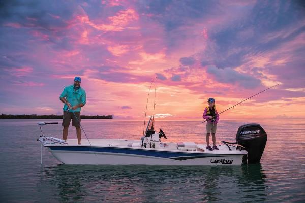 2020 Mako boat for sale, model of the boat is Pro Skiff 17 CC & Image # 4 of 45