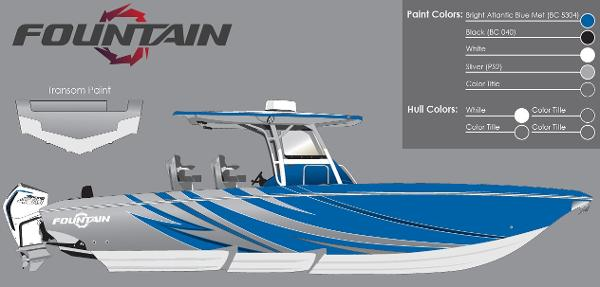 2021 Fountain boat for sale, model of the boat is 34 Sport Center Console & Image # 44 of 44