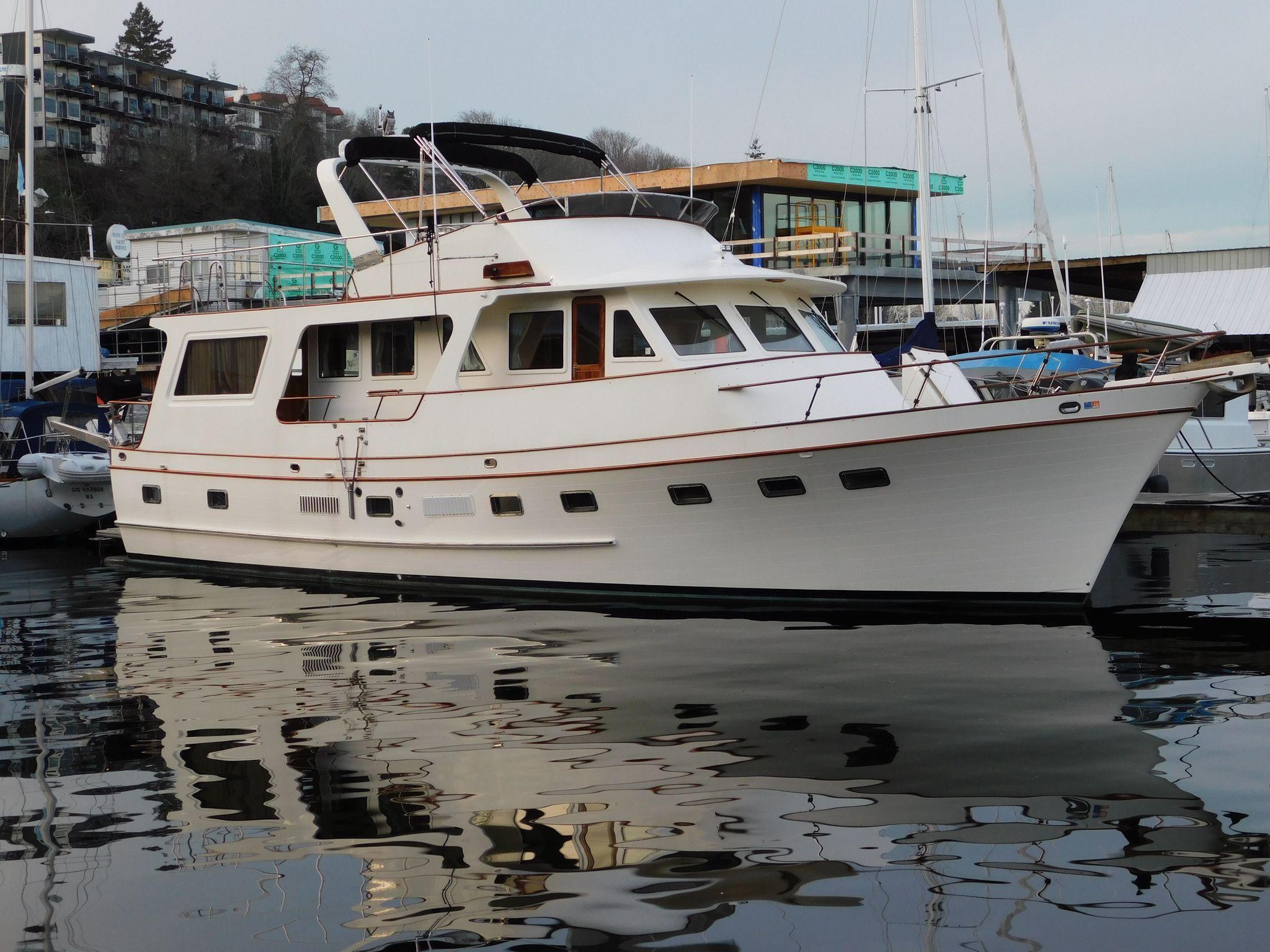 1984 DEFEVER 60 Flush Deck Trawler