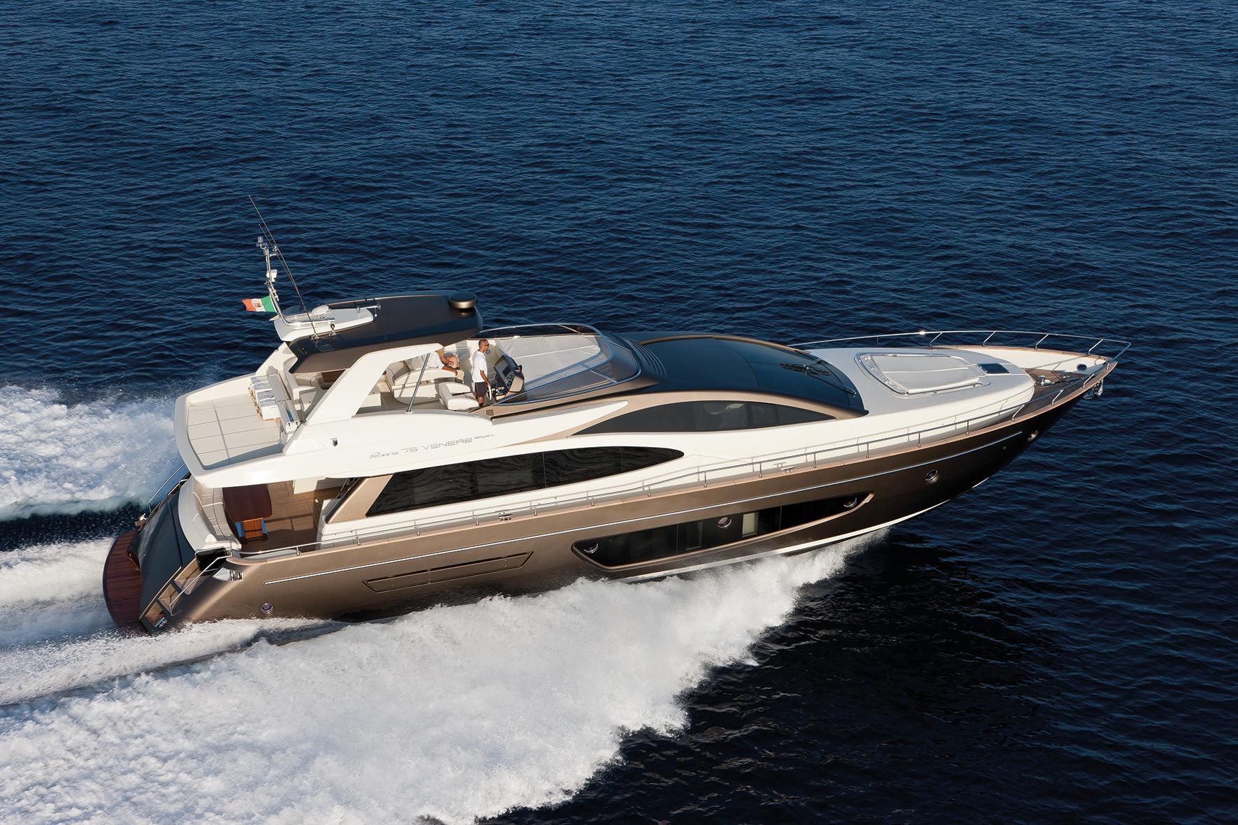 Manufacturer Provided Image: Riva 75' Venere Super Side View