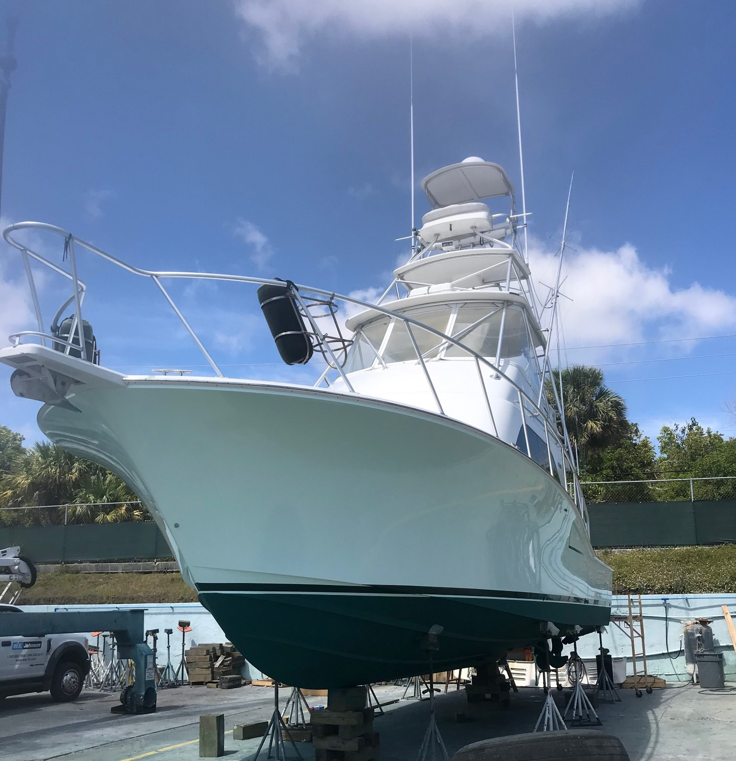 2005 CABO YACHTS INC Flybridge with C-12's and 2000 Hours Service