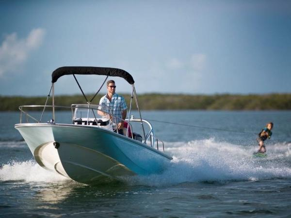 2021 Boston Whaler boat for sale, model of the boat is 170 Montauk & Image # 30 of 86