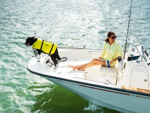 2021 Boston Whaler boat for sale, model of the boat is 170 Montauk & Image # 40 of 86