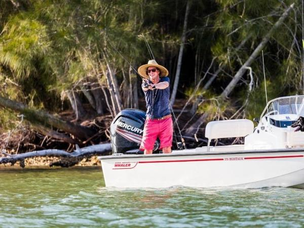 2021 Boston Whaler boat for sale, model of the boat is 170 Montauk & Image # 43 of 86
