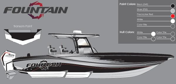 2021 Fountain boat for sale, model of the boat is 38SC & Image # 49 of 49