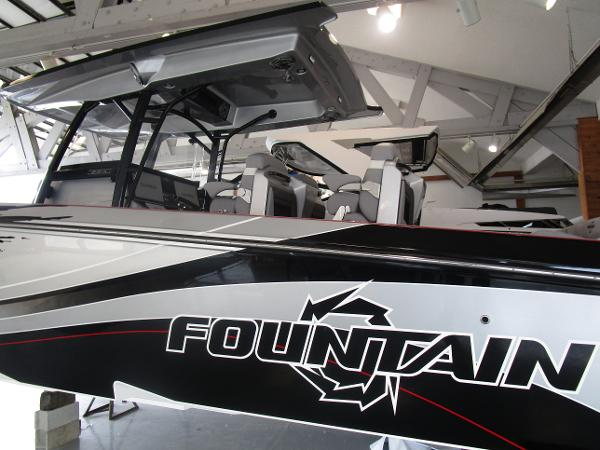 2021 Fountain boat for sale, model of the boat is 38SC & Image # 44 of 49