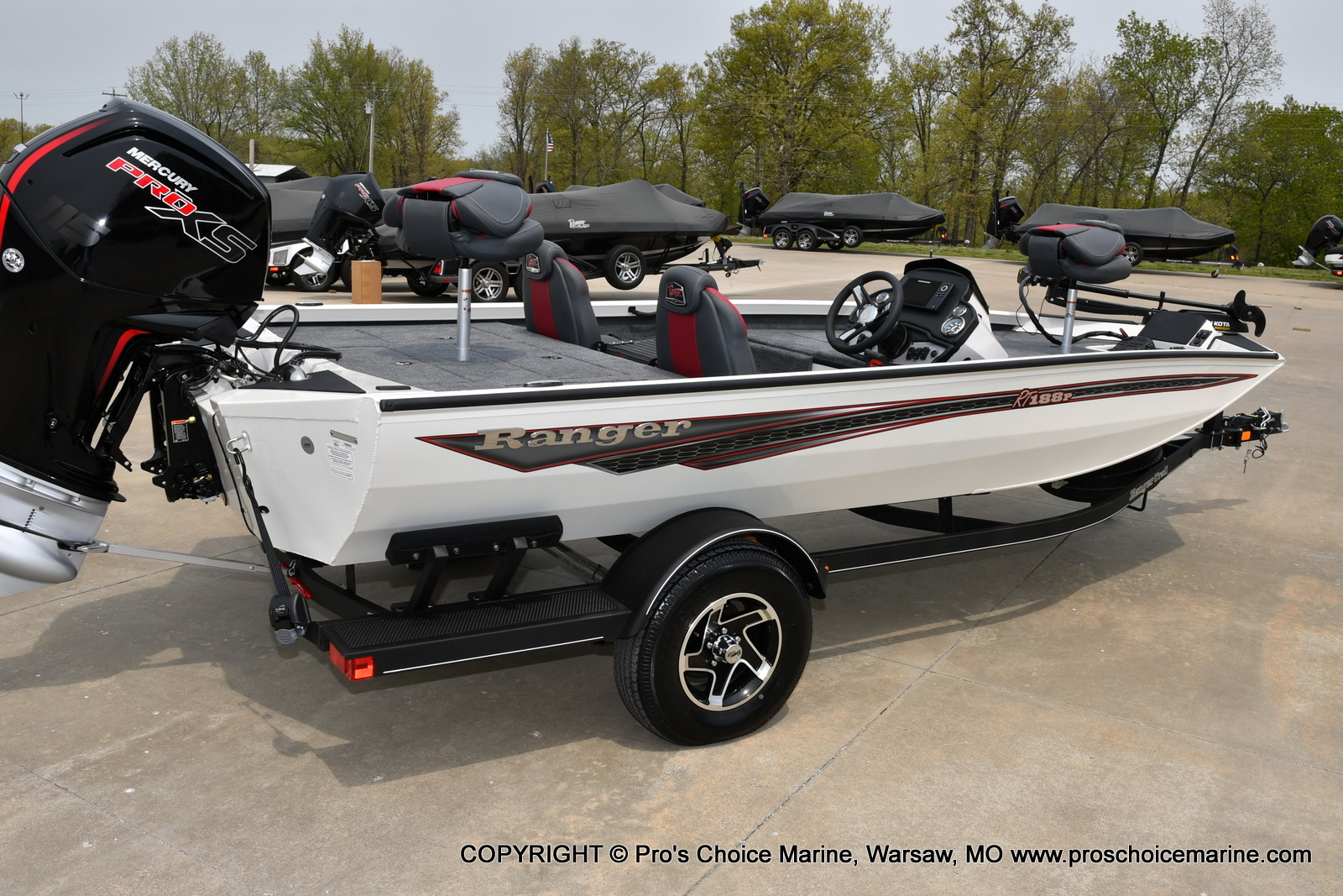 2021 Ranger Boats boat for sale, model of the boat is RT188P & Image # 43 of 50