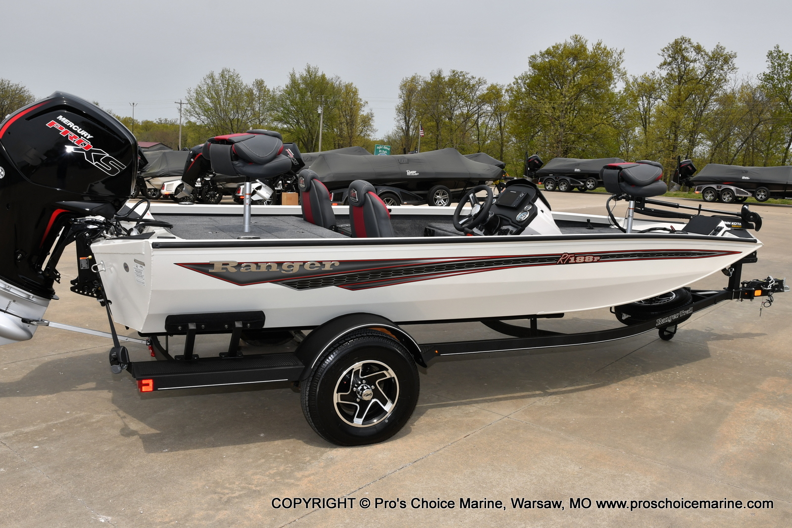 2021 Ranger Boats boat for sale, model of the boat is RT188P & Image # 22 of 50