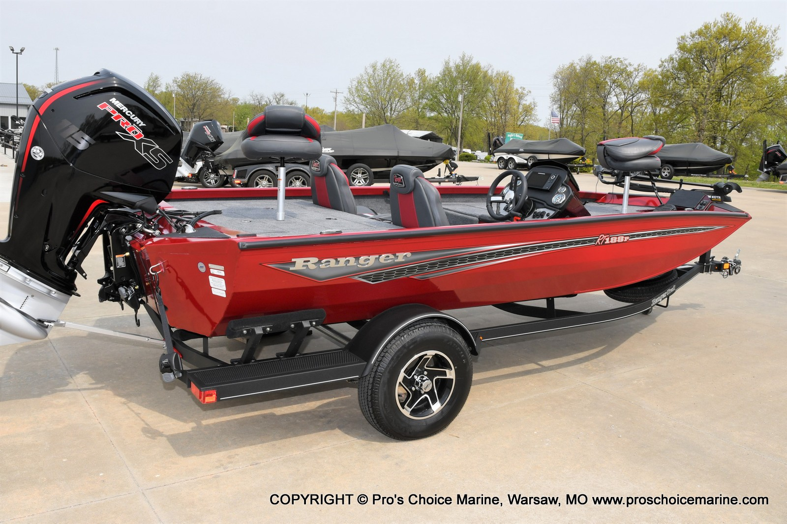 2021 Ranger Boats boat for sale, model of the boat is RT188P w/115HP Pro-XS Command Thrust & Image # 10 of 50