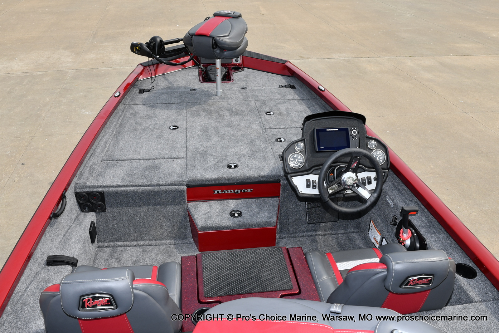2021 Ranger Boats boat for sale, model of the boat is RT188P w/115HP Pro-XS Command Thrust & Image # 6 of 50