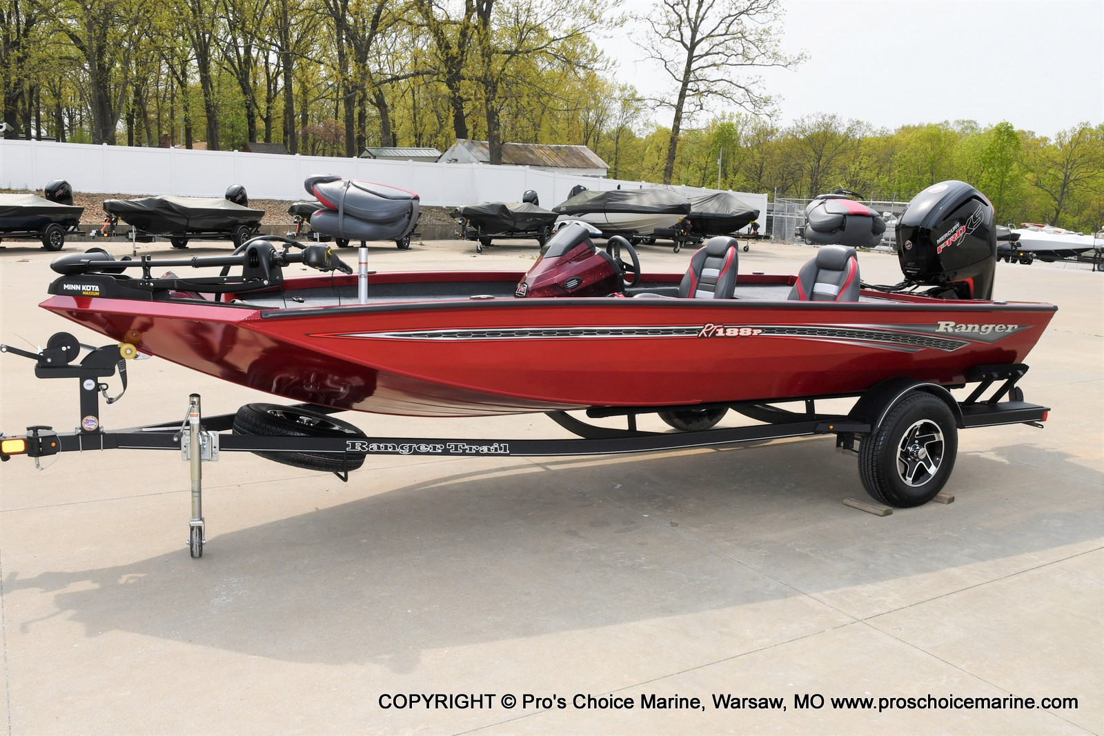 2021 Ranger Boats boat for sale, model of the boat is RT188P w/115HP Pro-XS Command Thrust & Image # 21 of 50