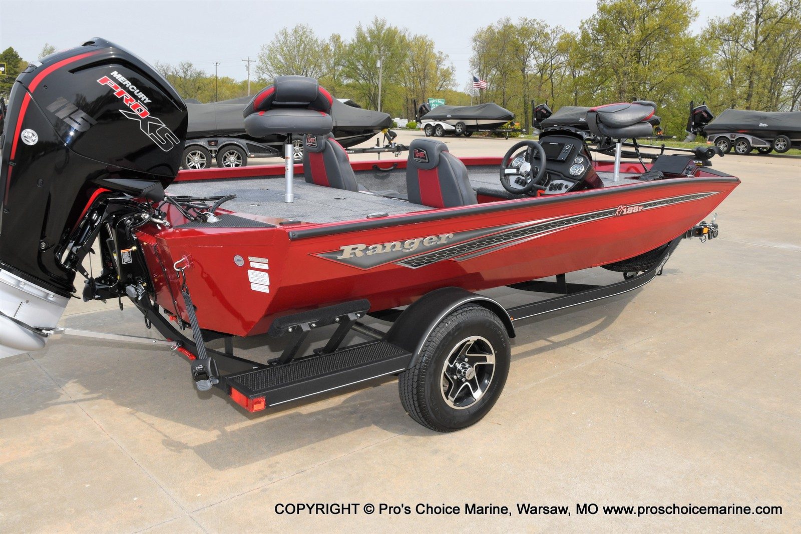 2021 Ranger Boats boat for sale, model of the boat is RT188P w/115HP Pro-XS Command Thrust & Image # 32 of 50