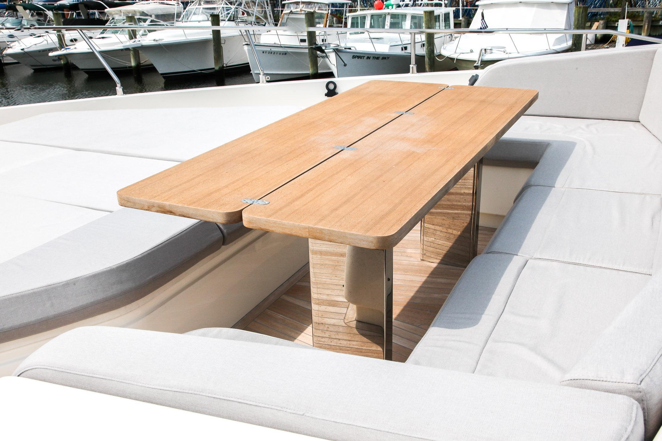 Forward Deck Seating