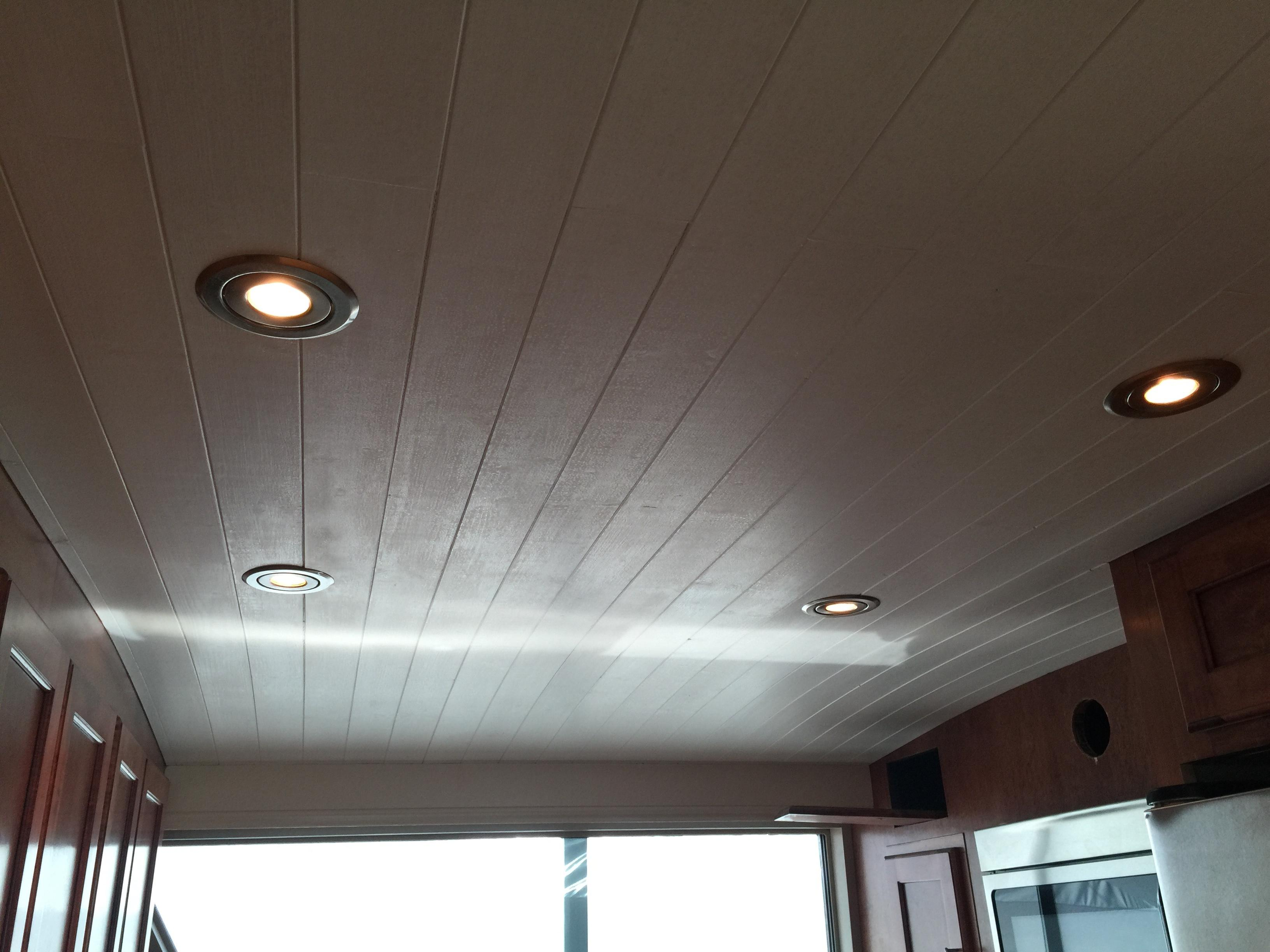 Galley Ceiling & Recessed Lights