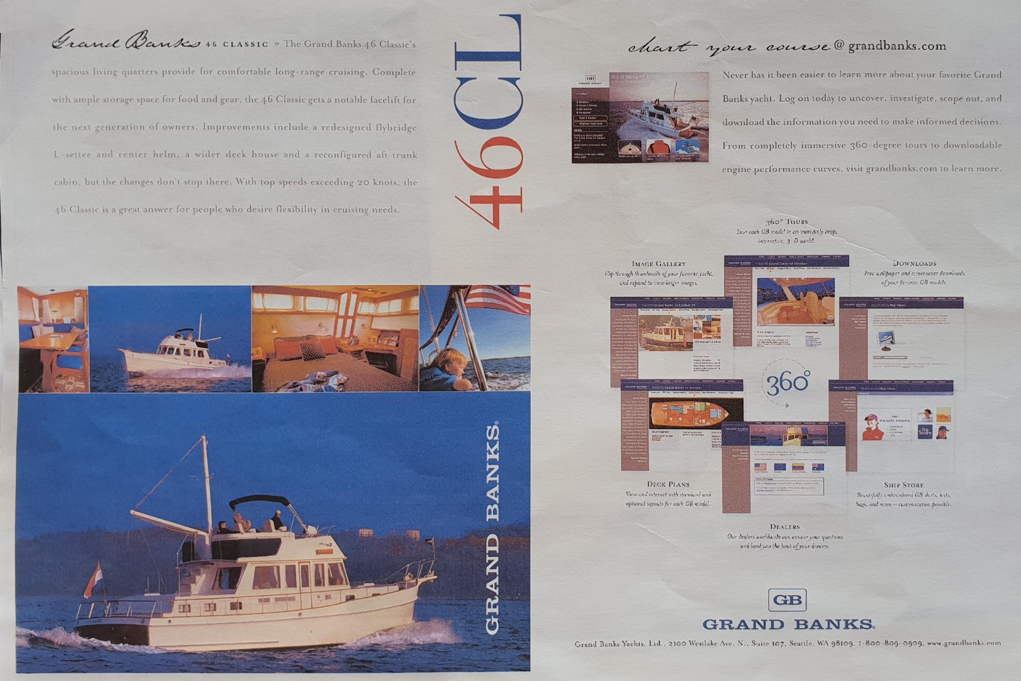 Grand Banks 46 Classic Spec