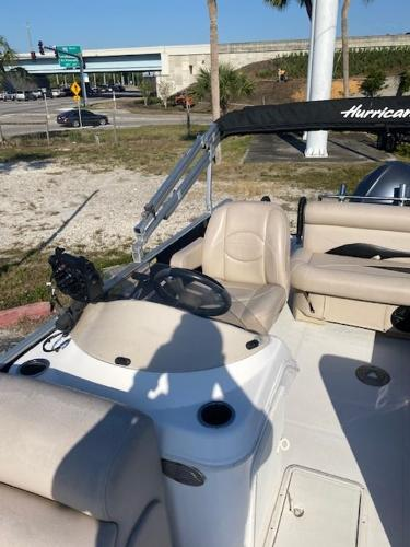 2015 Hurricane boat for sale, model of the boat is 196 FUNDECK & Image # 5 of 23