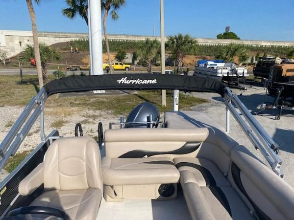 2015 Hurricane boat for sale, model of the boat is 196 FUNDECK & Image # 13 of 23