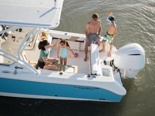 2021 Edgewater boat for sale, model of the boat is 248CX & Image # 4 of 11
